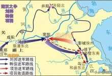 鸿沟什么意思,秦汉之交项羽和刘邦划鸿沟为界