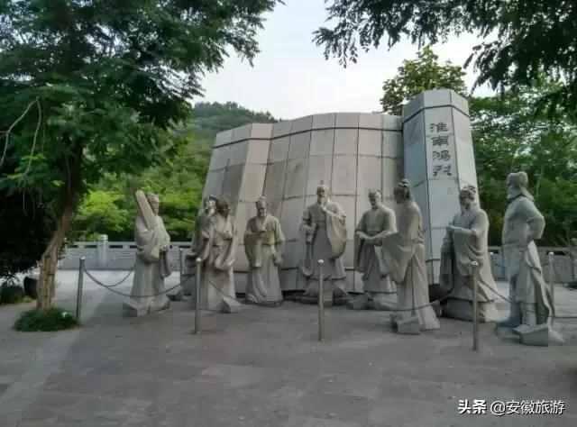 """淮南:天然奇景""""一柱石"""""""