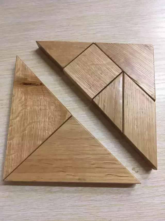 媛媛妈讲数学:一年级下用七巧板一分钟内拼出四种图形的诀窍