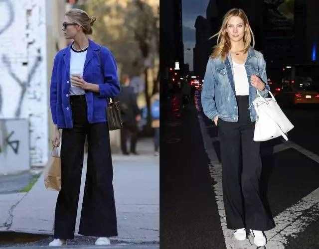 牛仔外套才是真时髦!搭配裙子、阔腿裤,春天穿超好看