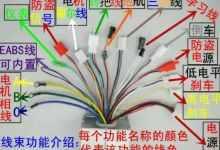 两轮电动车控制器接线图详解(控制器功能及接线指南)