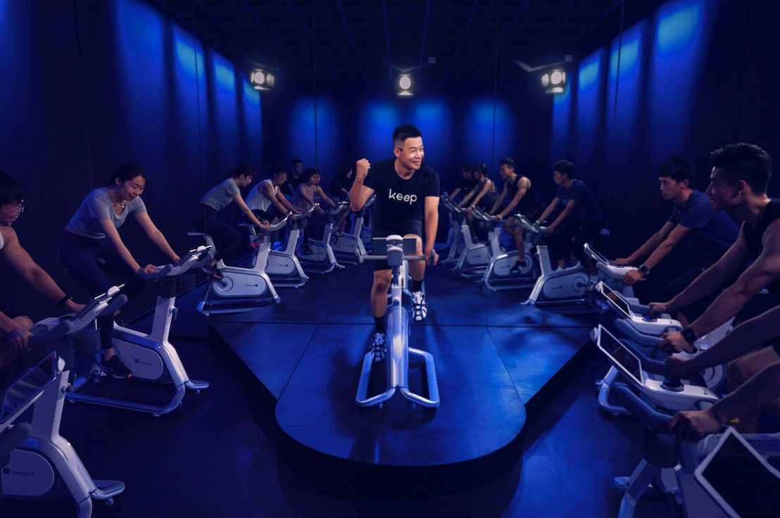 """居家健身更带感:Keep动感单车""""燃脂派对""""直播课评测报告"""
