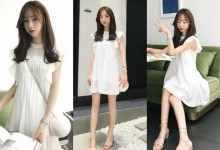 白色连衣裙配什么凉鞋(夏季白色连衣裙穿搭参