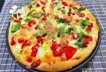 想吃披萨不用出门买,自己在家做简单,又香又解馋,全家人吃