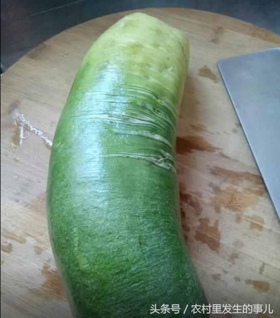 绿萝卜咸菜的腌制方法?农村大妈的神秘配方