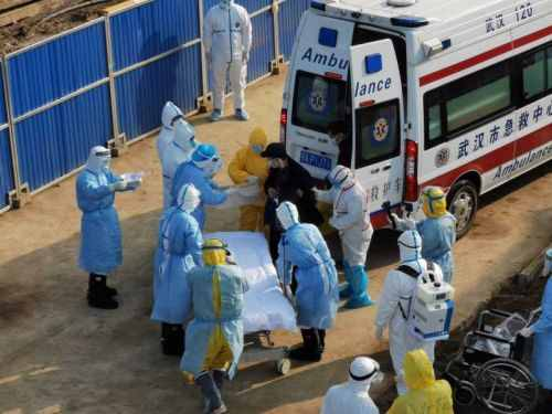 刚刚,武汉火神山医院接收首批患者