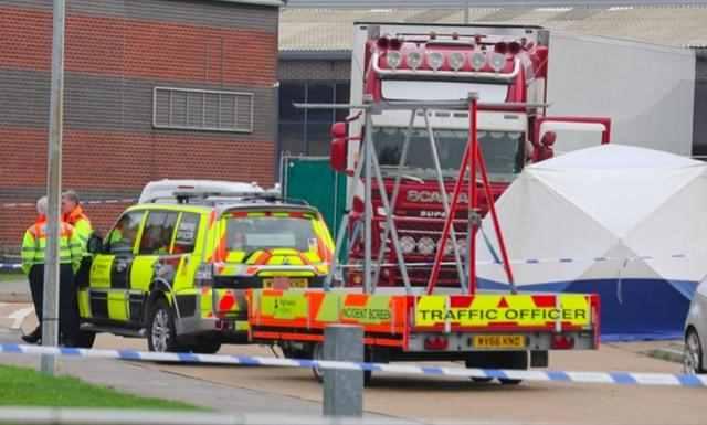 痛!英货车39具遗体或为中国籍 还原死亡路线:从比利时进英国