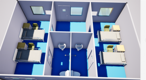 雷神山医院进度怎么样了?雷神山医院建设最新进度病房样板模