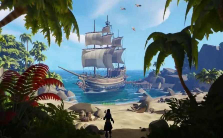 盗贼之海贸易岛在什么地方 盗贼之海贸易岛位置分享