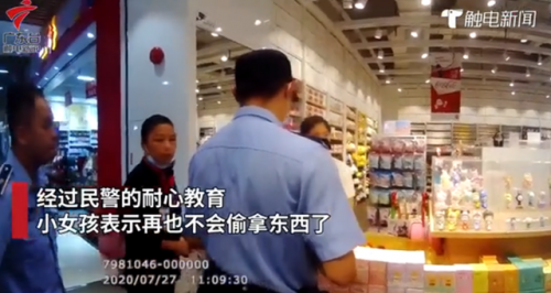 7岁女童商场偷拿玩具亲妈报警 亲妈为什么报警真相令人震惊