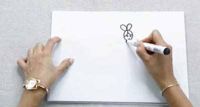 简笔画嫦娥和玉兔画法 嫦娥和玉兔怎么画