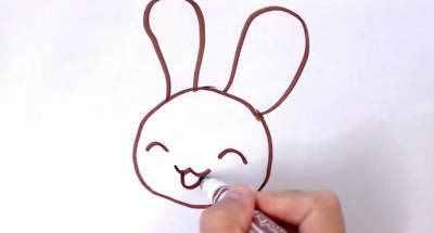 玉兔简笔画 玉兔怎么画