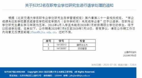 北京高校对超期学生发逾期警告怎么回事?具体详情通知曝光