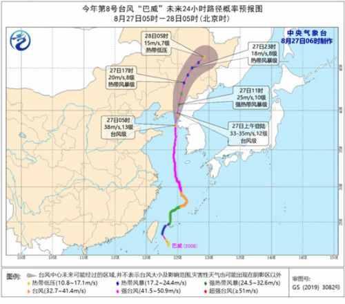 """2020年首个台风红色预警发布意味着什么 台风""""巴威"""""""