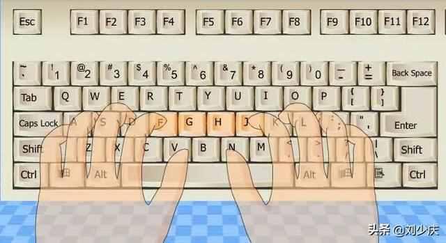 键盘指法练习?怎样盲打及快速打字指法练习