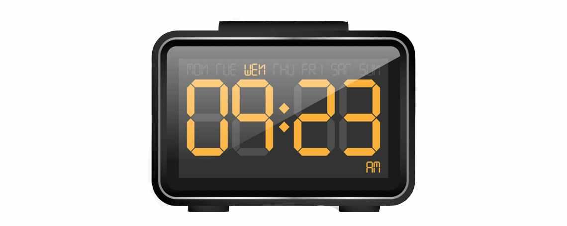 电子钟怎么调时间