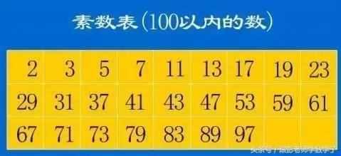认识质数和合数