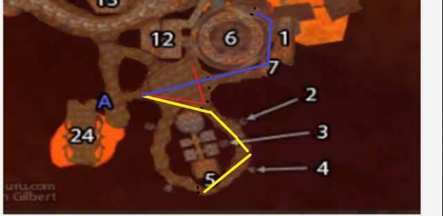 黑石深渊怎么去?黑石深渊副本路线图