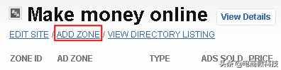 一个可以赚钱的博客,同样是发文章,这里分享给你