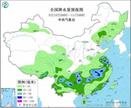 西南地区东部和南部、江南华南等地多降水
