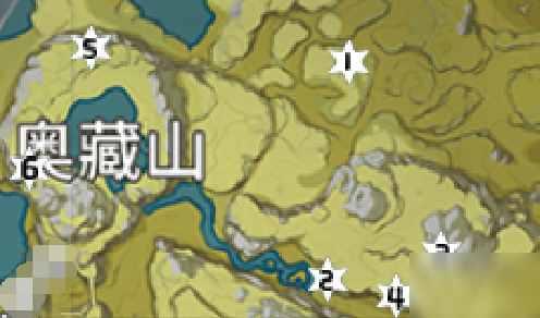 原神奥藏山岩神瞳位置在哪 奥藏山岩神瞳位置分布一览
