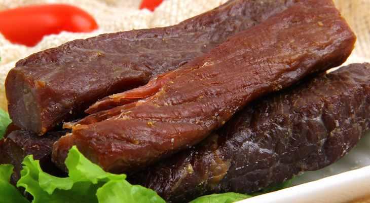 内蒙古牛肉干只卖50元一斤,这些牛肉干是真是假?