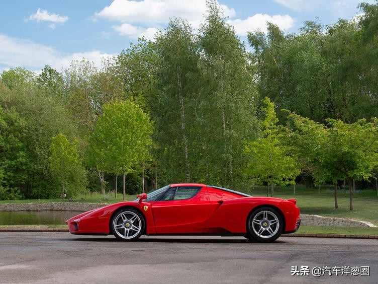 一台法拉利Enzo在海外出售,你觉得应该卖多少钱?